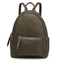 Casual Backpack Fashion College Leather Backpack