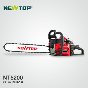Steel gasoline 5200 chain saw 52cc with CE EUROII GS certificates