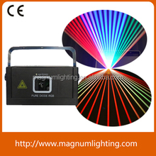 night club RGB full color animation 1w stage laser light laser show system