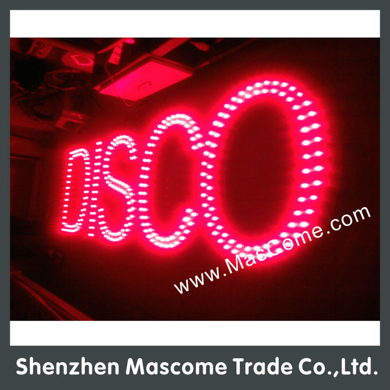 2015 best quality Customized Beauty salon sign Facial waxing led sign
