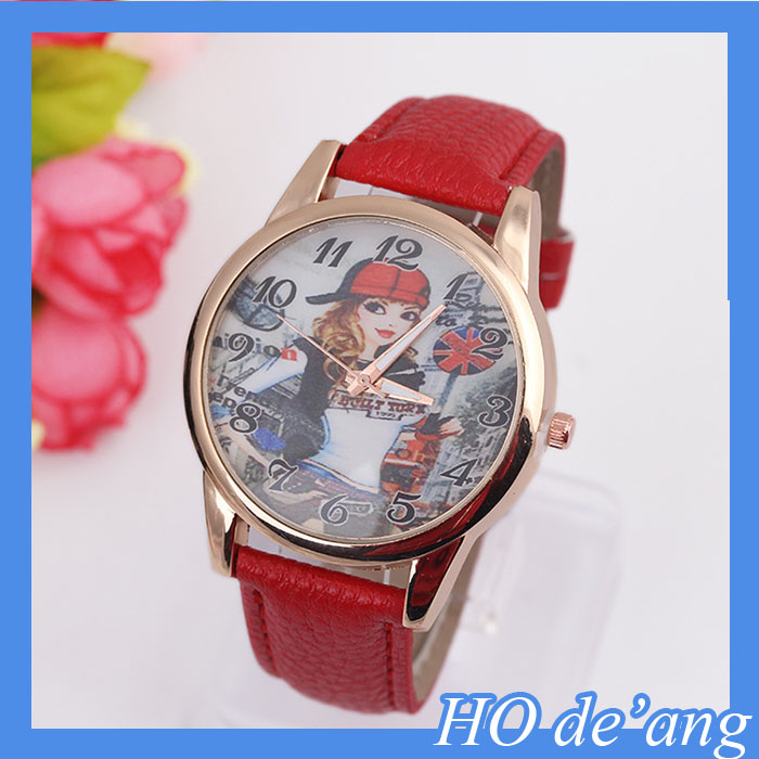 2015 Hot Selling Nicole Lee Casual Watch Leather Bracelet Watch