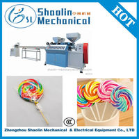 The Most Novel heart shape lollipop wrapping/packing machine with best service