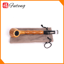 Yiwu Futeng 1209 Wooden Smoking Pipe Tools Novelty Saxophone Pipe Hookah Accessories