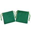 High quality candy color small storage polyester drawstring bag