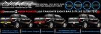 factory price Generation 3 super power 49'' 60'' car led brake light bar