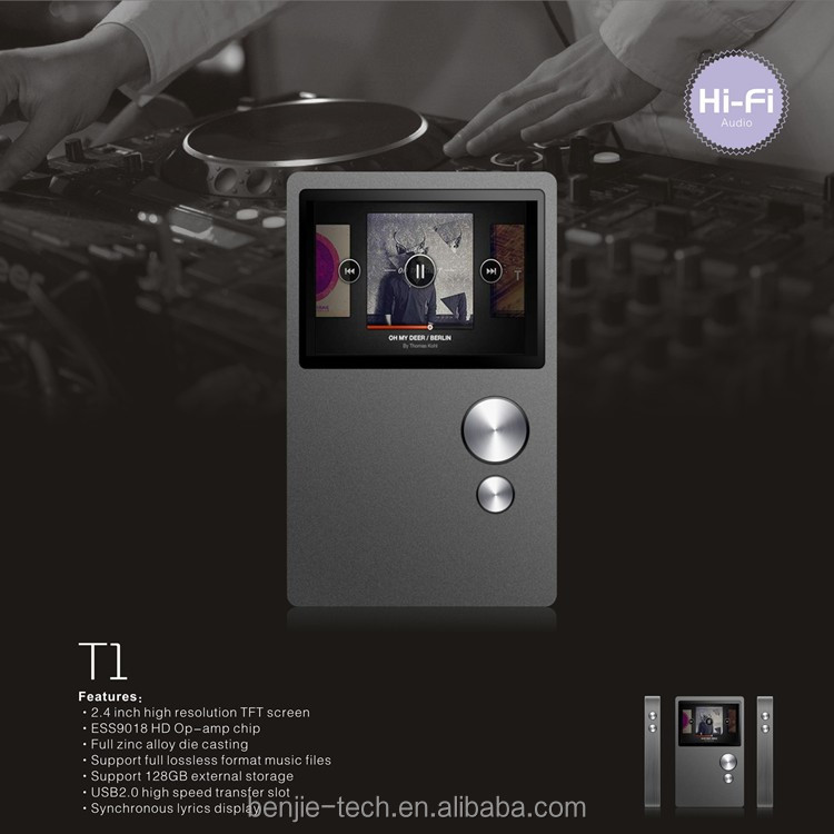 New model metal all lossless format HiFi MP3 player