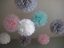 First-class quality competitive price tissue paper pom poms flower balls