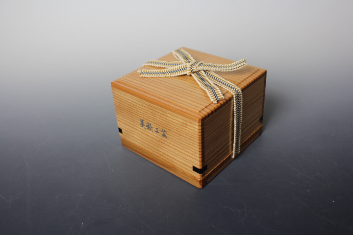 Japanese traditional small unfinished wood gift boxes packaging jewelry watch gift handmade by craftsmen in japan