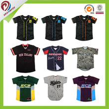 best quality coolmax fabric dry fit infant baseball jersey