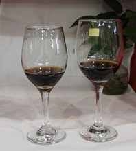 uneasy breakable wine glass with heavy bottom machine made 11oz red wine glass