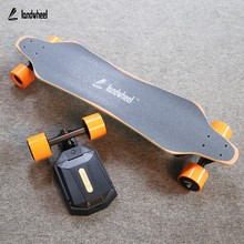 2017 New Private Model Remote Controller Dual Drive 4 Wheels Electric Skateboard Longboard