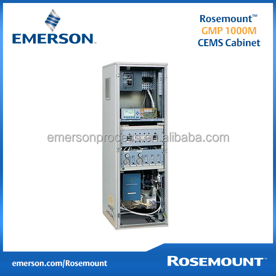 Rosemount Analytical Continuous Emission Monitoring Systems (GMP 1000M CEMS Cabinet with MLT Analyzer)