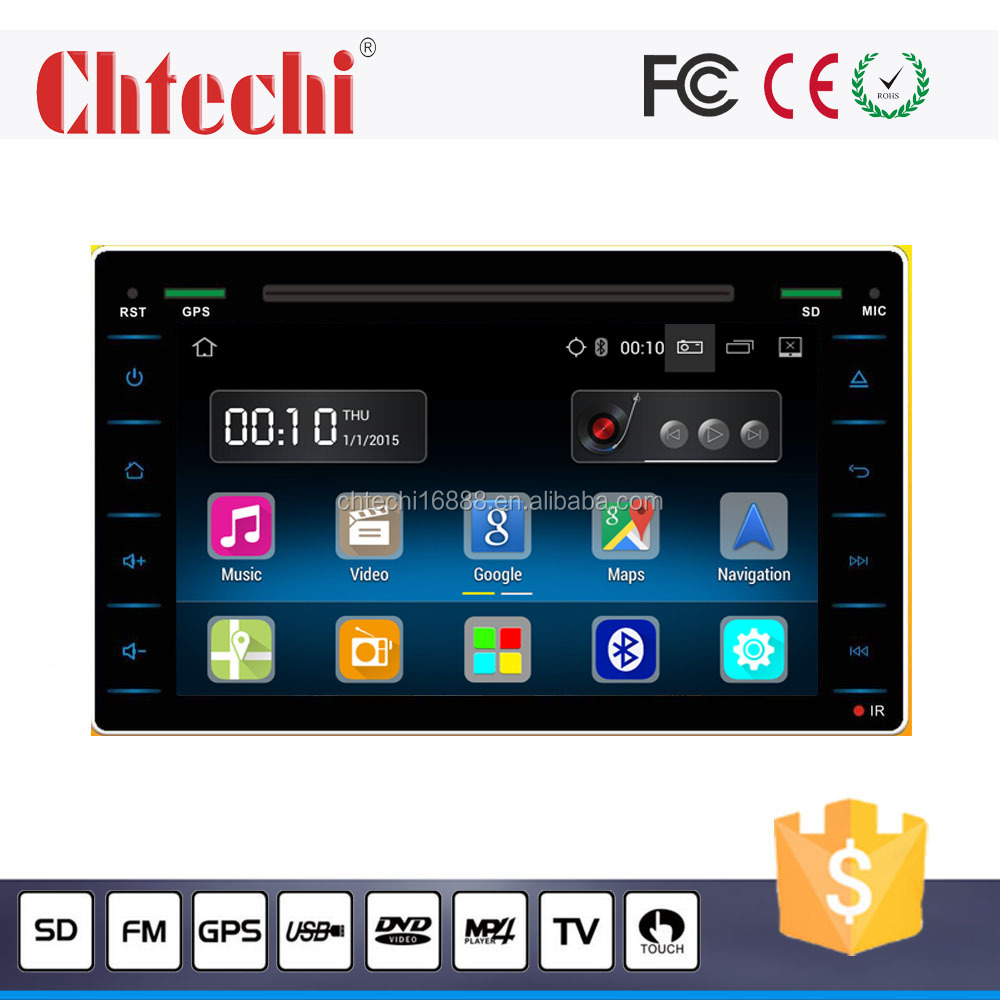 Car DVD Player for Toyota 2016 Hilux with TV/AM/FM/Radio/Bluetooth/Navigation/Android 5.1.1 system