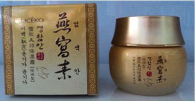 New products Liceko Korea famous bird's nest nourishing & whitening beautify moisten cream / face cream