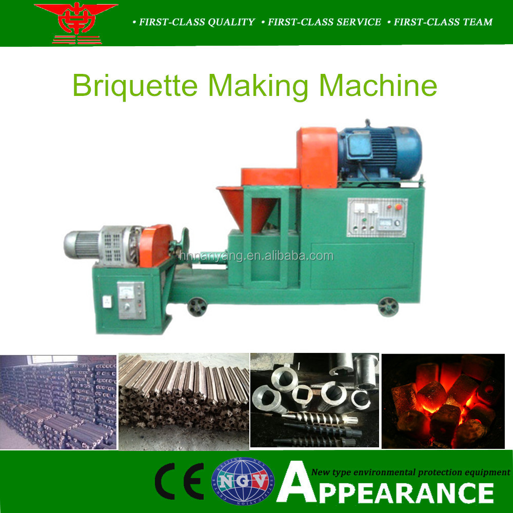 Cow Dung Briquette Making Machine