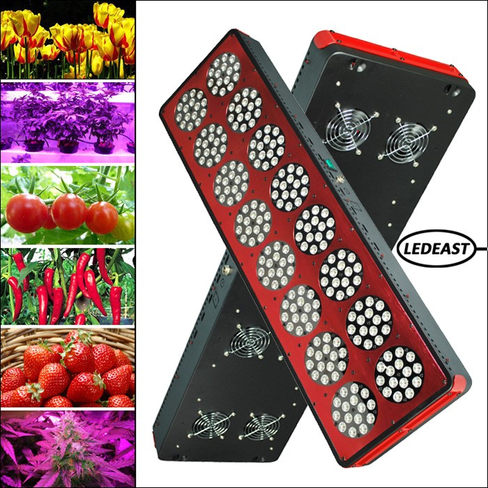 720w Apollo 16 hydroponic growing systems full spectrum LED grow light greenhouse grow lighting for plants
