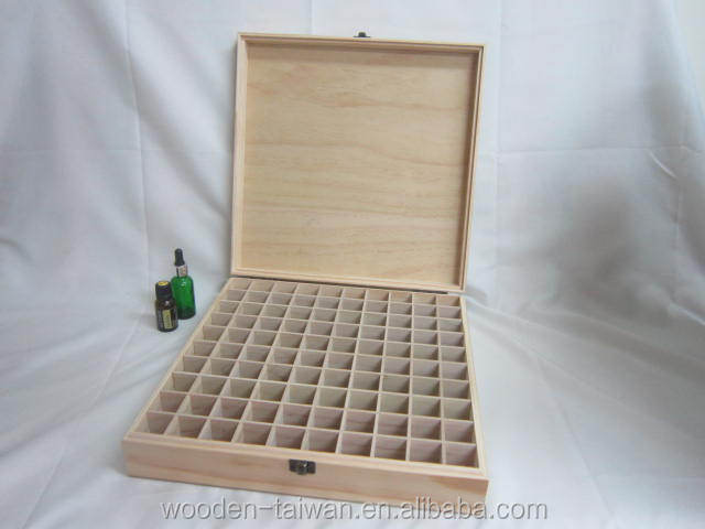 Popular essential oil box, several removable compartment,100 slots oil battle case.