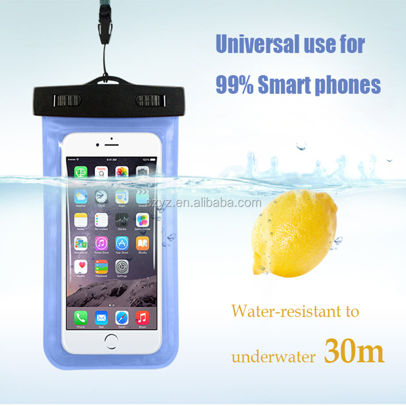 2016 Newest Mobile Phone Waterproof Bag Case Cover for Samsung Galaxy S3/S4/S5/S5 Mini/S6 S7 S6 edge