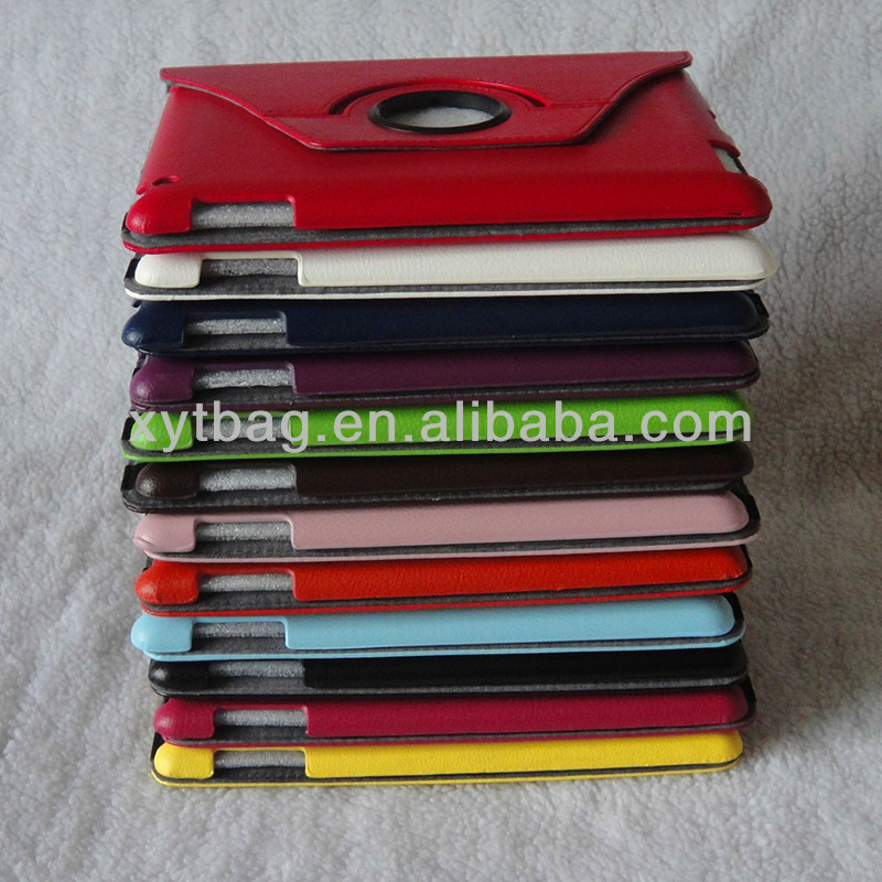 The newest fashion and best selling 360 rotate tablet pc case cover