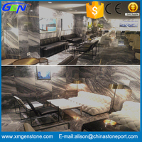 Own Quarry High Quality Polished Multicolor Grey Marble