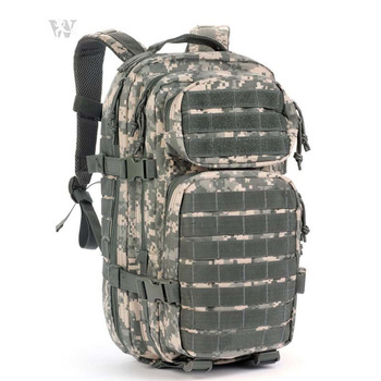 Waterproof Nylon Assault ACU Camouflage Army Molle Bag Day Back Pack