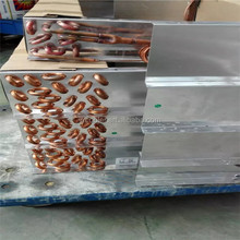 High quality evaporator r134a Varied finned tube Varied finned tube