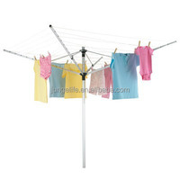 4 arms rotary airer/washing line .aluminum construction 50m, easy assembly