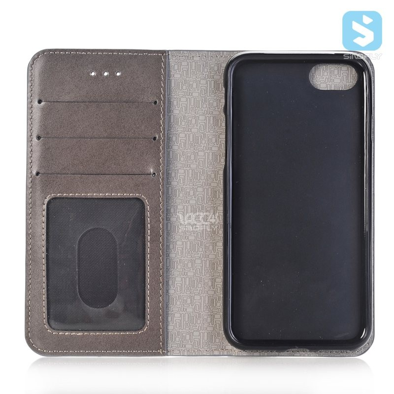Newest mobile phone case 2in1 Magnetic PU Wallet Leather Case for iPhone 7