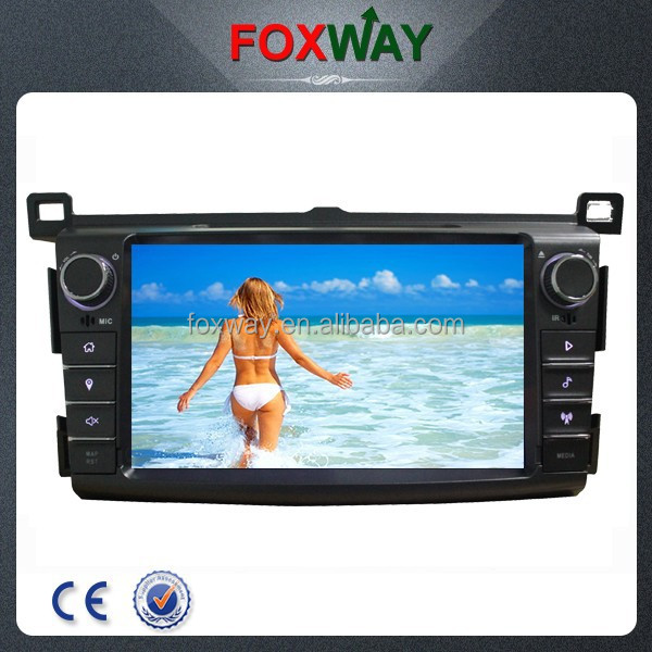 8'' 2din touch screen android 4.2 car dvd player with gps navigation system/dvd/vcd/cd/fm am radio/BT/iPod for TOYOTA RAV4