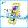yellow high quality silicone plastic waterproof case for s4