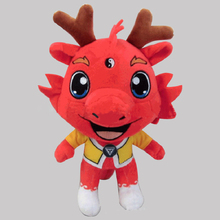Inflatable Red Dragon toy custome made plush doll stuffed toy chinese mascot toy