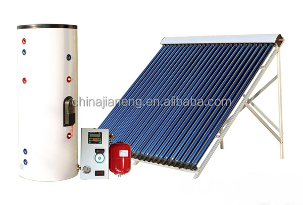 2015 new products 200L Split pressurized solar water heater solar boiler