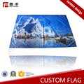 Quick delivery advertising silk printing country flags sale