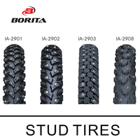 INNOVA 26-700C Anti-Slip Bicycle Snow Tires/Fat Tire with Studs