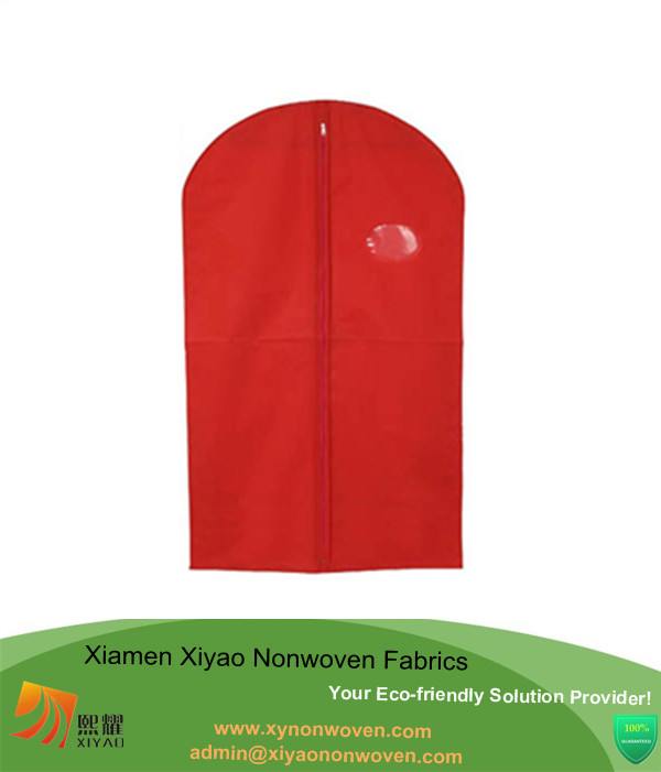 Eco friendly clothing storage non woven garment bag