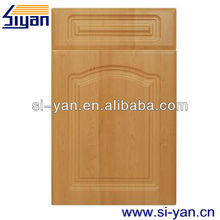 mdf wrapped pvc cabinet door