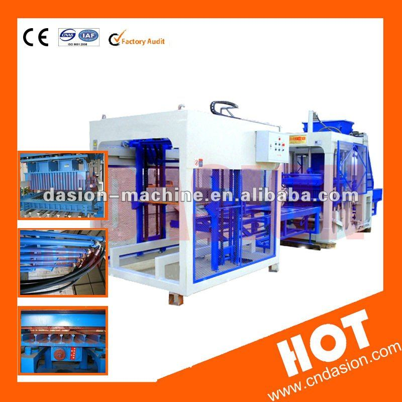 DS4-35 Manual Hollow Concrete small block cement stationary concretelow cost hollow chinese brick making machine