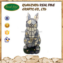 cabochon resin kawaii rabbit statue