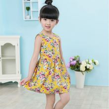 Wholesale fashion apparel factory modern kids party wear cocktail dress for children