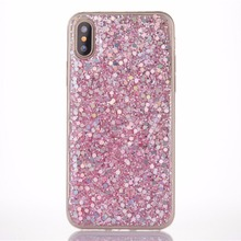 Newest Fashional Protective Glitter Cell Phone Case for iphone X/10