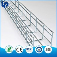 ISO 9001 Galvanized Steel Wire Mesh Tray cable tray