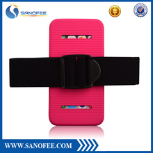 Strong & flexible Silicone armband case, easy fitting armband case