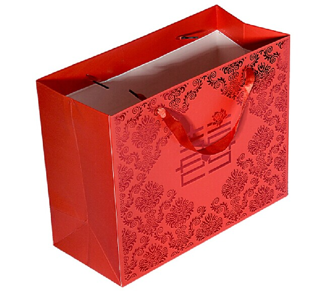 wholesale reusable sunflower paper gift bags