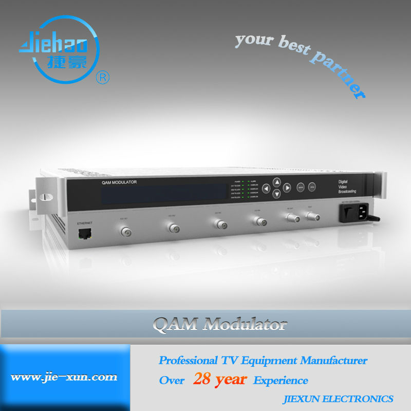 Professional Digital TV Catv QAM Modulator