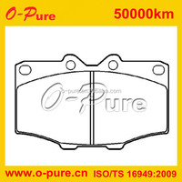 OE brake pad in stock manufacturer in china for nissan elgrand e51