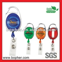 plastic roller badge holder clip