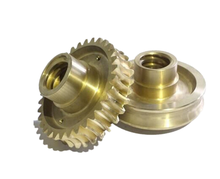 China Suppliers OEM Aluminum Brass Stainless Steel small gear parts/spur gears