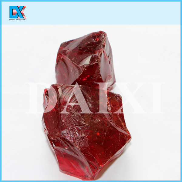 large crystal glass rock for decoration