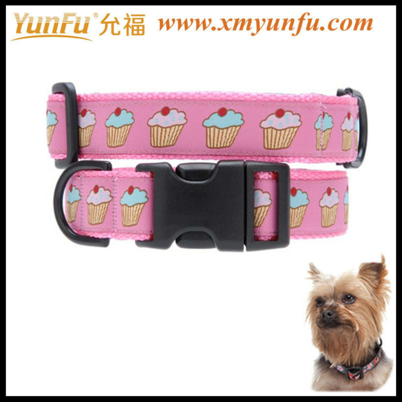 Beautiful dog Collars Couture Cupcakes Pink Collar