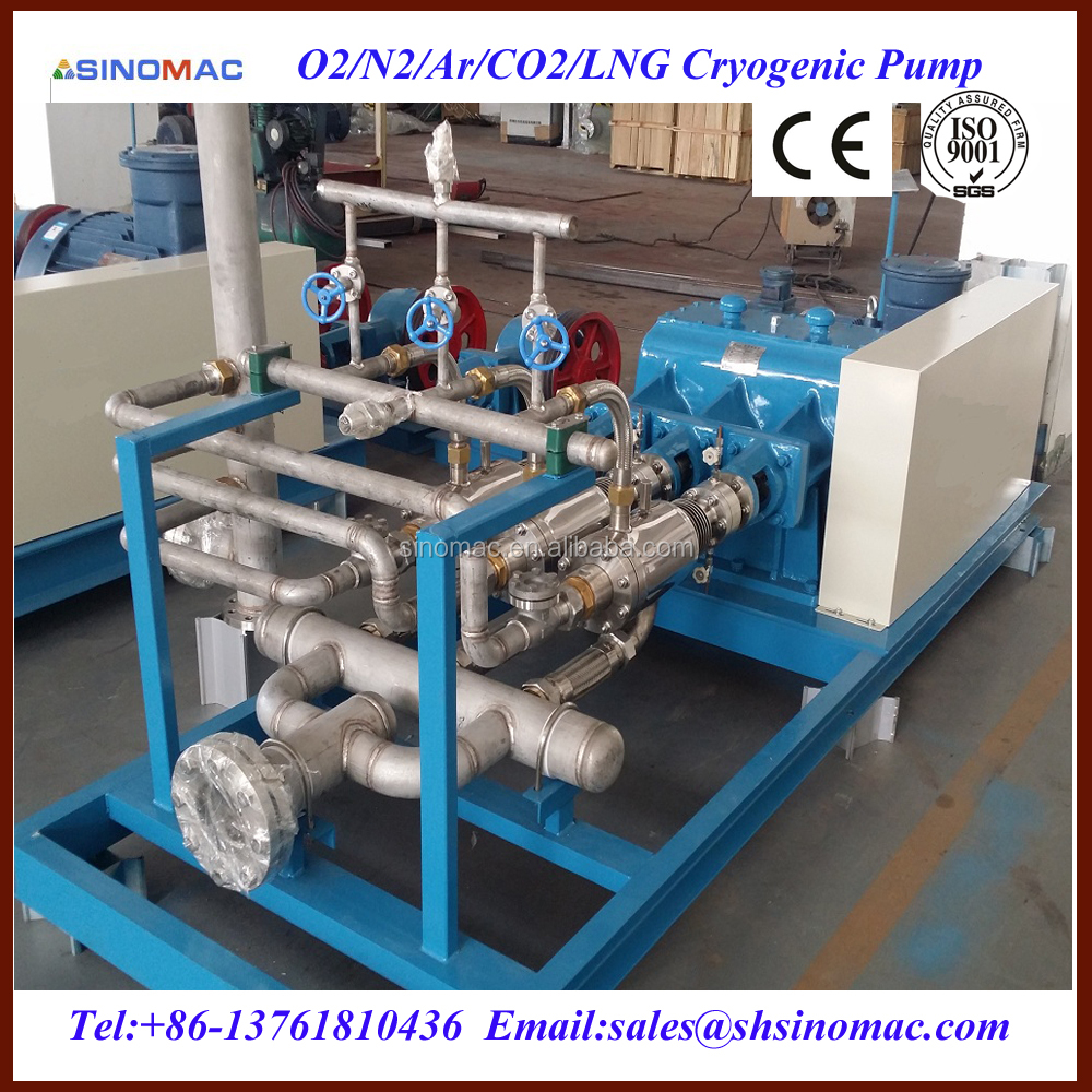 High Pressure 70Mpa Liquid CO2 Cryogenic Transfer Pump